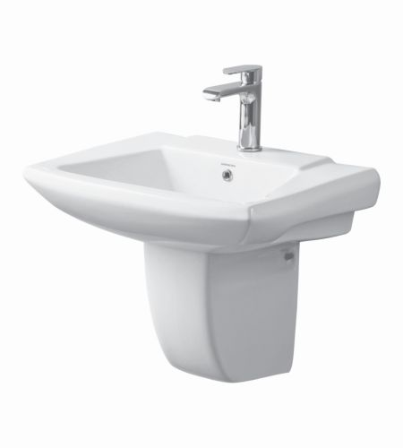 AMALIA (V-1514/15)  Basins  With  Half-Pedestal  ||