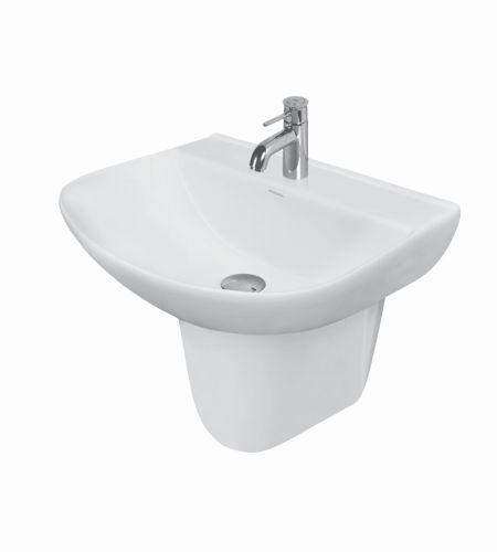 CARINA V-1532/13 Basin With Half Pedestal ||