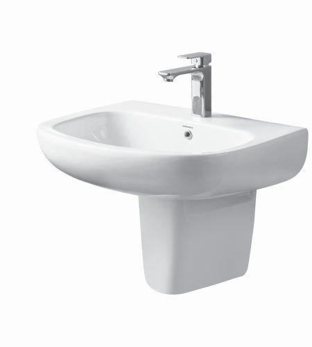 ELOIS V-1506/07 Basin With Half-Pedestal ||