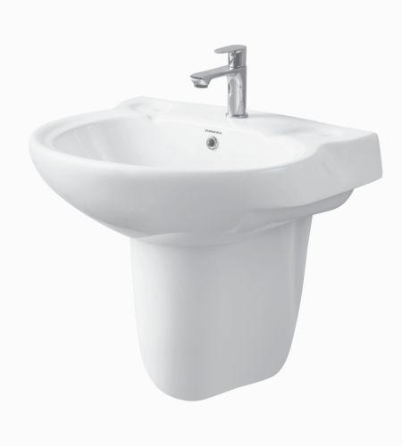 FINA V-1516/13 Basin With Half Pedestal ||