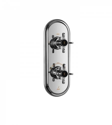 Diverter | QQP-CHR-7681KPM | Aquamax Exposed Part Kit of Thermostatic Shower Mixer with 2-way diverter
