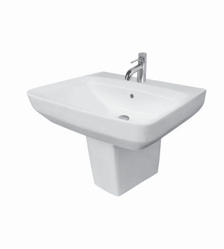 ZYRA V-1533/34 Basin With Half Pedestal ||