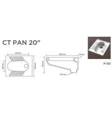 "CT PAN 20""V-853"