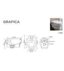 GRAFICA V-9014 (ALASKA-WHITE WITH SLIM SEAT COVER)