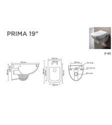"""PRIMA V-9001  19"""""""