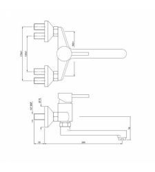 Single Lever Sink Mixer | FLR-5163 |